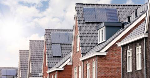 Zonnepanelen op het dak